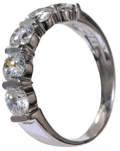 Δαχτυλίδι λευκόχρυσο γυναικείο 015180 015180 Χρυσός 9 Καράτια dcbd093a24c