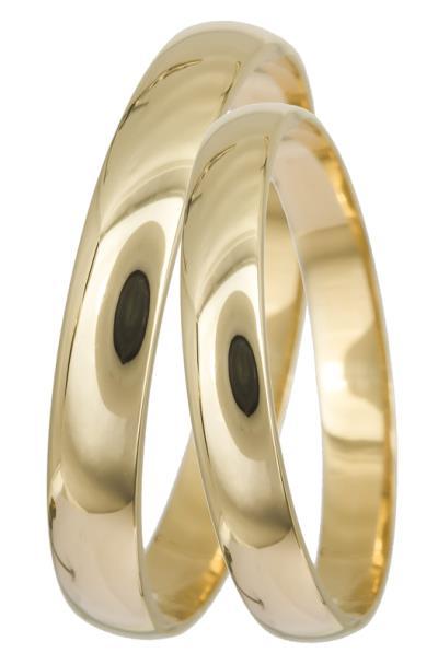 Βέρες γάμου Κ14 022332 022332 Χρυσός 14 Καράτια μεμονωμένο τεμάχιο abb6786c90b