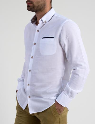 ανδρικά ασπρο πουκαμισα ανω - Totos.gr 019cb04019e
