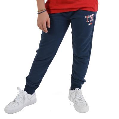 9a6cf2f27d0 Tommy Jeans Essential Sweatpants - Παιδική Φόρμα KB0KB04232-002 - BLACK IRIS