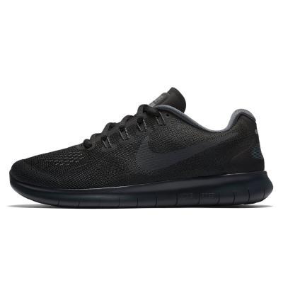 6c59f7ed3f392 Nike Free Run 2017 Women s Shoes 880840-003 - BLACK ANTHRACITE-DARK GREY-COOL  GR
