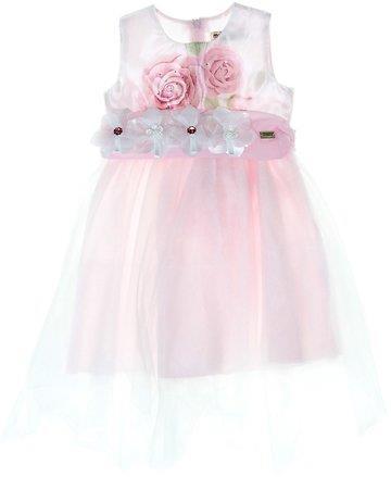 de948c1d6b5c Εβίτα παιδικό αμπιγιέ φόρεμα «Delicate Roses»