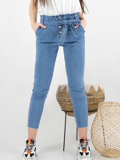 bbb5d962add γυναικεία μπλε παντελονι ρουχα ζωνη - Totos.gr
