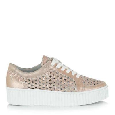 Coolway CACEY ροζ χρυσό γυναικεία sneakers Cool way Cacey 134 P 5da76b3154c