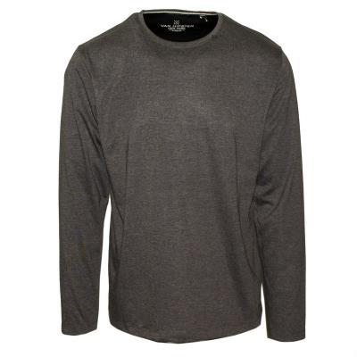 7569c2f36d3b 71436-04 Ανδρική μακρυμάνικη μπλούζα μακό - γκρί μελανζέ