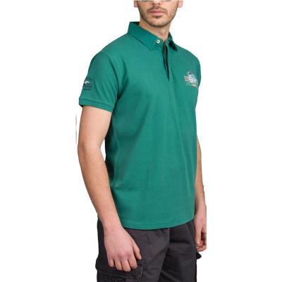 3858942335bb Ανδρικό Kοντομάνικο Μπλούζακι με Γιακά Polo Double PS-197S Πράσινο
