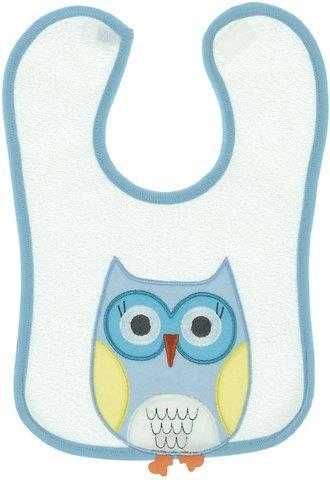 e0f624bb897 Kedicik βρεφική σαλιάρα φαγητού «Blue Owl»