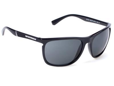 Γυαλιά ηλίου Emporio Armani ΕΑ 4107 5017 87 Μαύρο Γκρι (5017 87)  Πολυκαρβονικός 1cb1b0b2daa