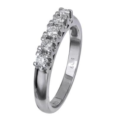Γυναικείο δαχτυλίδι σειρέ Κ18 024521 024521 Χρυσός 18 Καράτια 06326e9828d