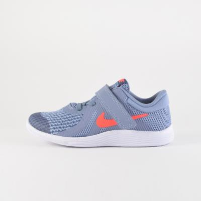 Nike Revolution 4 Infants  Shoes 943304-400 - SOLID GREY BLUE WHITE 3a1acb575fe