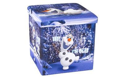 8ac62f0fa94 Παιδικό Σκαμπό Πτυσσόμενο με Αποθηκευτικό Χώρο με θέμα τον OLAF απο την  ταινία F