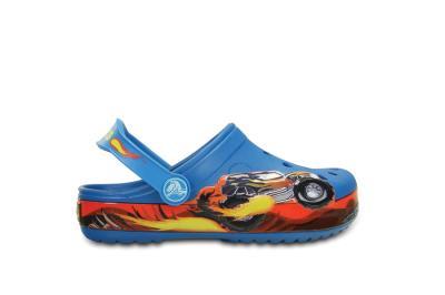 8f26c09850f Παιδικά Παντοφλάκια Crocs Clog Monster Truck Blue