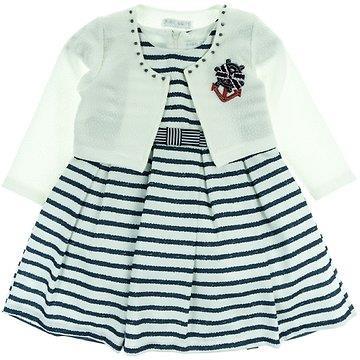 3b40008a5d0e Εβίτα παιδικό αμπιγιέ φόρεμα   ζακέτα μπολερό «Anchor»