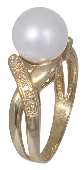 Γυναικείο δαχτυλίδι χρυσό 18Κ με μαργαριτάρι 020894 020894 Χρυσός 18 Καράτια b0cb6208281