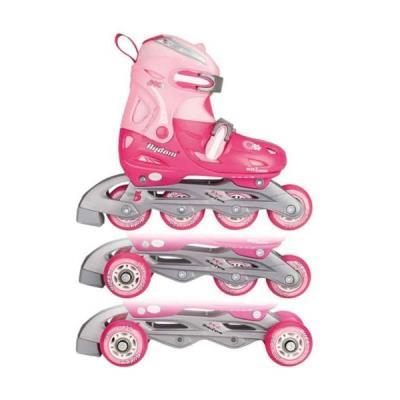 Αυξομειούμενο πατίνια Inline Quads Roller Skate Girl Nijdam 52QP 83dcc69b6b1