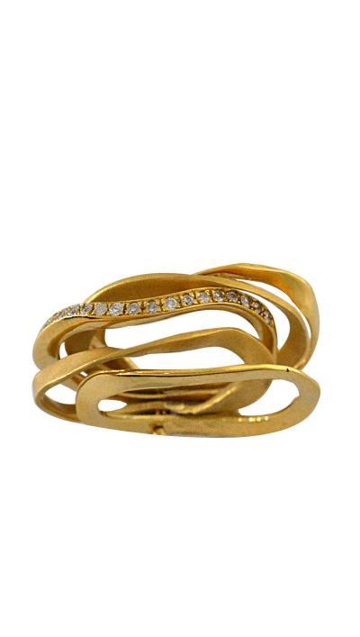Δαχτυλίδι χρυσό 18 καράτια με μπριγιάν 0.25ct 49386b1fcdf