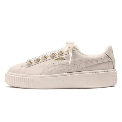 6fa255fe4c Puma Suede Platform Bling Women s Sneakers 366688-02 - OFF WHITE