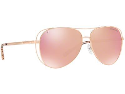 Γυαλιά ηλίου Michael Kors Lai MK 1024 1174 N0 Polarized Γυαλιστερό Ροζ  Χρυσό Ροζ 67b1fd37519