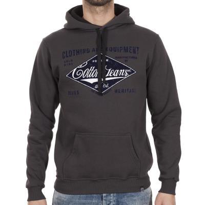 6762d84f95a0 Ανδρικό Μπλούζα Φούτερ με Κουκούλα Hoodie Cotton4all 18-461 Ανθρακί