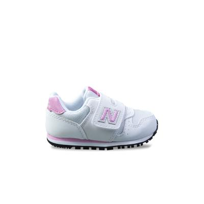 c91958d7f17 Βρεφικά Παπούτσια New Balance 373 Λευκό/Ροζ