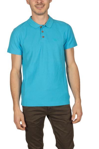 2f030da917f2 Ανδρική πόλο μπλούζα πικέ μπλε - h-1704-bl