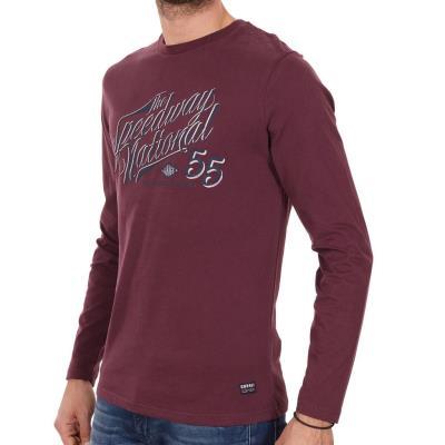 e05343c2f990 Ανδρικό Μακρυμάνικη Μπλούζα Garage55 GAM202-07217 Κόκκινο