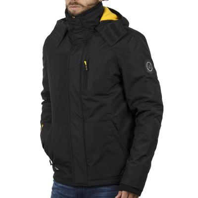 Ανδρικό Μπουφάν Jacket με Κουκούλα ICE TECH G612 Μαύρο 3ff68c56f52
