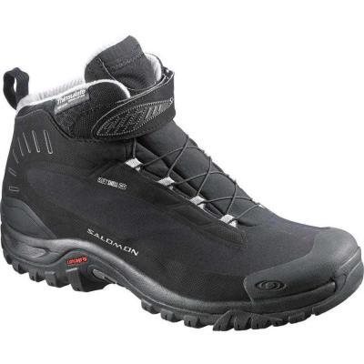 Αδιάβροχα ορειβατικά μποτάκια ανδρικά Salomon Deemax 3 TS WP Black 404734  Μαύρο 52f205e5997