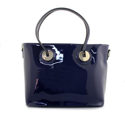 e12acef023 Γυναικείες τσάντες χειρός λουστρίνι Μπλε