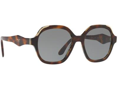 Γυαλιά ηλίου Prada SPR 06US TH8 9K1 Καφέ Λευκή Ταρταρούγα Γκρι (TH8 9K1)  Πολυκαρ cd0ee67ac59