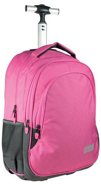 0c9956a0206 Σχολική τσάντα τρόλεϋ MUST 3 ΘΗΚΕΣ Power Ροζ 31Χ45Χ17 579173