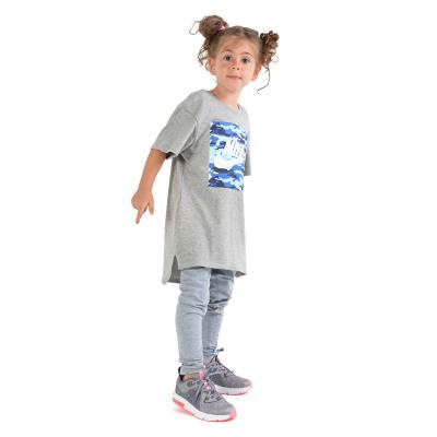 897e7406486 Nike Kid's Tee Camo AR1731-063 - DARK GREY HEATHER