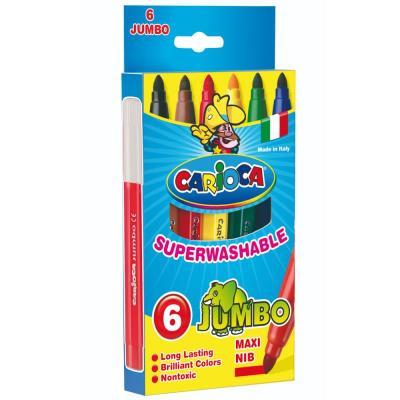 04211e78626 Μαρκαδόροι Jumbo superwashable 6τεμ. Carioca