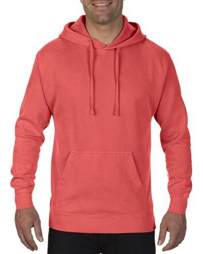 db3b644bf4dc Ανδρικό Φούτερ με Κουκούλα Comfort Colors 1567 - Neon Red Orange