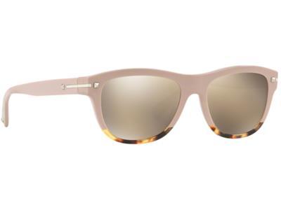 Γυαλιά ηλίου Valentino VA 4019 50065A Ροζ Κίτρινη Ταρταρούγα Χρυσός  Καθρέφτης (5 c5b80460f9c
