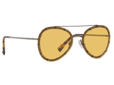 Γυαλιά ηλίου Valentino VA 2013 300585 Ανθρακί Κίτρινο (300585) PC Lenses  100% UV 4349fa69dde