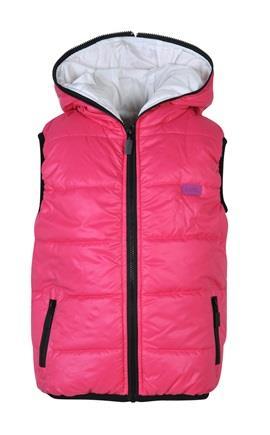 Bodytalk Παιδικό αμάνικο μπουφάν με κουκούλα d9bb37b851f
