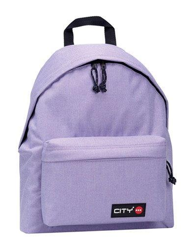 ed4eb0e5187 Σχολική τσάντα πλάτης CITY 41x30x15 MELANGES λιλά 97017