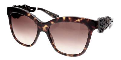 986c4f39ef49 Sunglasses Dolce   Gabbana Spain in Sicily DG 4264 502 13 Women Tortoise  Square