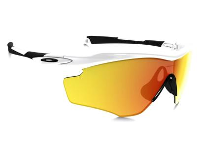 1cdbb37be40 Γυαλιά ηλίου Oakley M2 Frame XL OO 9343 05 Γυαλιστερό Λευκό Πορτοκαλί  Καθρέφτης