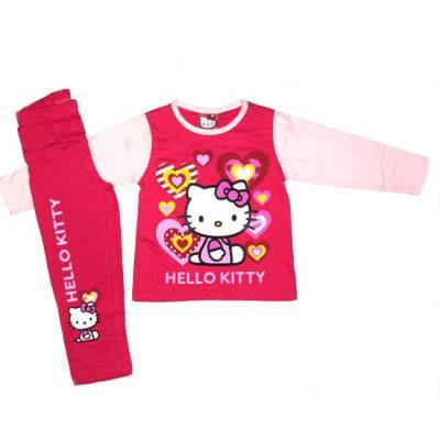 Πυτζάμα Hello Kitty βαμβακερή κορίτσι 3d5df4ce9b7