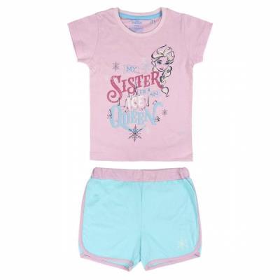 dee9e4d62d8 Πυτζάμα παιδική καλοκαιρινή Frozen Disney 2200003464