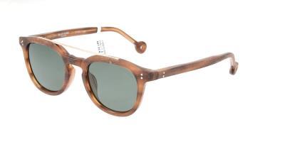 73d0f9bb41 Sunglasses Hally   Son HS600 S03 Unisex Brown Round Polarized
