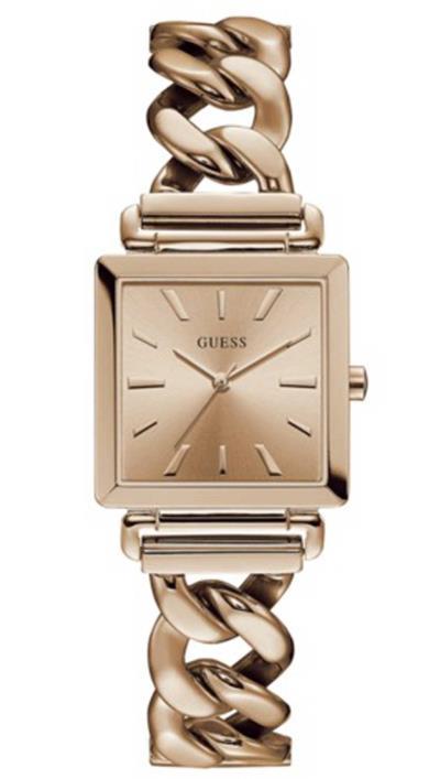Ρολόι Guess με ροζ χρυσό μπρασελέ και καντράν W1029L3 a96f0efd9fb