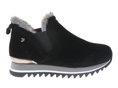 92615e0a655 Gioseppo Γυναικείο Δερμάτινο Sneaker 41099 BLACK