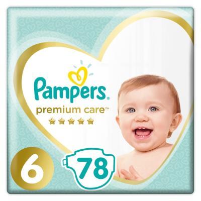 196682c6781 Πάνες Pampers Premium Care Νο 6 Mega Box 78τμχ (13+kg)