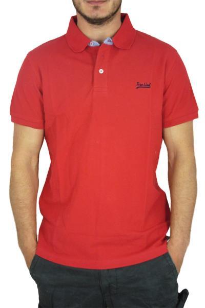 99153c843f25 Ανδρική πικέ πόλο μπλούζα κόκκινη - 225-415-rd