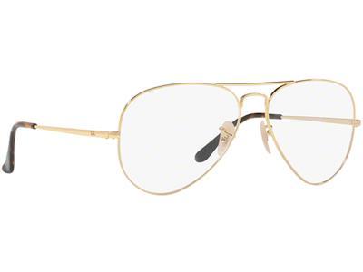Γυαλιά οράσεως Ray-Ban Aviator Rx 6489 2500 Χρυσό (2500) a8f6ad91807