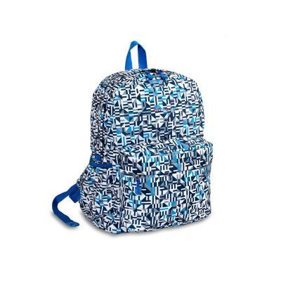 7313fada70 Τσάντα Πλάτης JWORLD Oz Geo Blue 395-00008-66