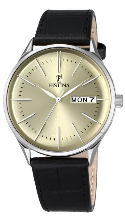 Ρολόι Festina ημερομηνίας με μαύρο λουράκι F6837 2 73a5041219e